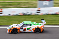 Lotus Exige race car Stock Images