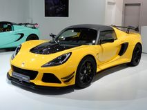 Lotus Exige Sport 380 Photos stock
