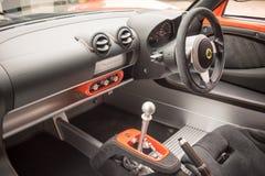 Lotus Exige Sport 380 Binnenland Stock Foto