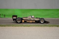 Lotus 79-2 1978 före detta Ronnie Peterson för formel 1 Arkivbild