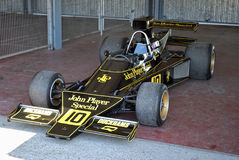 Lotus F1. Bengt Ronnie Peterson. Royalty Free Stock Photography
