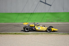 Lotus 69-F2 formel 1971 2 på Monza Royaltyfri Foto