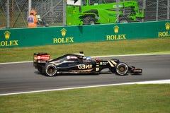 Lotus F1 Team E23 driven by Jolyon Palmer at Monza Stock Photos