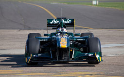 Lotus f1 car Royalty Free Stock Photo