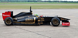 Lotus f1 car Stock Image
