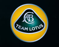 Lotus f1 logo Stock Photography