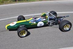 Lotus F2 -1967 - Vernasca Zilveren Vlag 2011 royalty-vrije stock fotografie