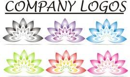 Lotus Firma logowie Obraz Royalty Free