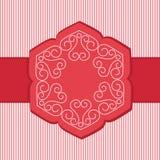 Lotus Flower Banner unica Fotografia Stock Libera da Diritti