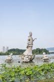 Lotus-flower fairy Royalty Free Stock Image