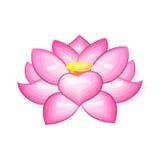 Lotus Flower Logo Fotografia Stock Libera da Diritti