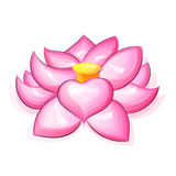 Lotus Flower Logo Stock Afbeeldingen