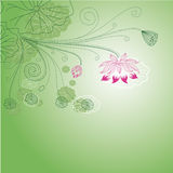 Lotus flower pattern Royalty Free Stock Photos