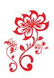Lotus flower pattern Stock Photography