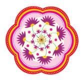 Lotus flower pattern Stock Photo