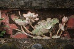 Lotus Flower Relief Imagen de archivo