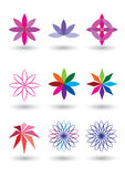 Lotus flower vector illustration Royalty Free Stock Photography