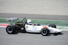Lotus Formula 2 på den Monza strömkretsen Royaltyfria Bilder