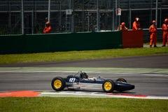 1963 Lotus 27 Formule Ondergeschikte auto Stock Foto