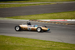 1963 Lotus 22 Formulemindere in Monza Royalty-vrije Stock Foto's