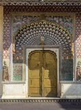 Lotus Gate, Pritam Niwas Chowk Jaipur City Palace stock images