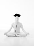 Lotus graduate doctor Stock Photography