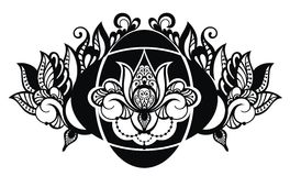 Lotus illustration Stock Photos
