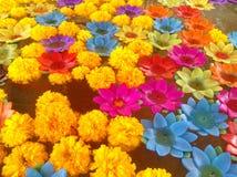 Lotus-kaars Stock Foto