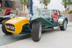 Lotus Kar 120 c op vertoning Royalty-vrije Stock Foto's