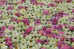 Lotus-Kerze stockfotografie
