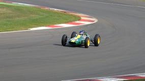 Lotus 25 klasyka formuły 1 Prix Uroczysty samochód Zdjęcia Royalty Free