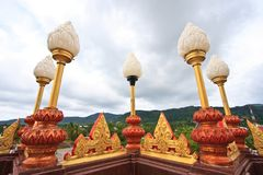 Lotus-lamp Stock Afbeelding