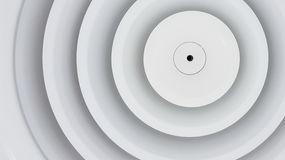 Close up circle air grill. Close up shot of circle air condition grill on ceiling Stock Photos