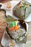 Lotus Leaf Rice Fotos de archivo