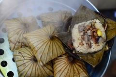 Lotus Leaf Rice Wraps Fotos de archivo libres de regalías