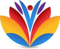 Lotus Logo Stockfoto
