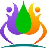 Lotus logo Stock Images