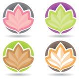 Lotus Logo Fotografia Stock Libera da Diritti