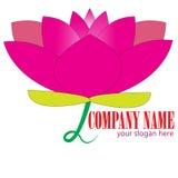 Lotus Logo Royaltyfri Fotografi