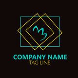 Lotus Logo Design. Royalty Free Stock Photos