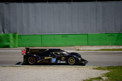 2012 Lotus/Lola LMP2 Prototype test at Monza Royalty Free Stock Photography
