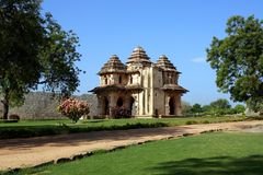 Lotus Mahal. Hampi, South India state of Karnataka Stock Photography