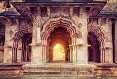 Lotus Mahal dans Hampi Photo libre de droits