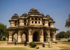 Lotus Mahal dans Hampi, Inde photos libres de droits
