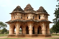 Lotus Mahal at Hampi Stock Images
