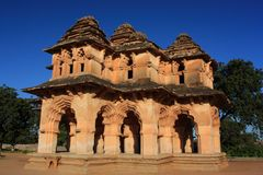 Lotus Mahal in Hampi, India. Royalty Free Stock Photo