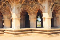Lotus Mahal in Hampi, India. Detail Stock Images