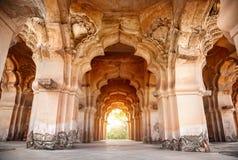 Lotus Mahal in Hampi. Lotus Mahal in royal center in Hampi, Karnataka, India stock photo