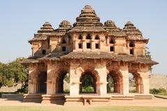 Lotus Mahal palace ruins of Royal Centre at Hampi Royalty Free Stock Image