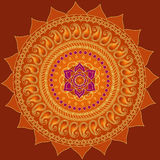 Lotus Mandala royalty free illustration